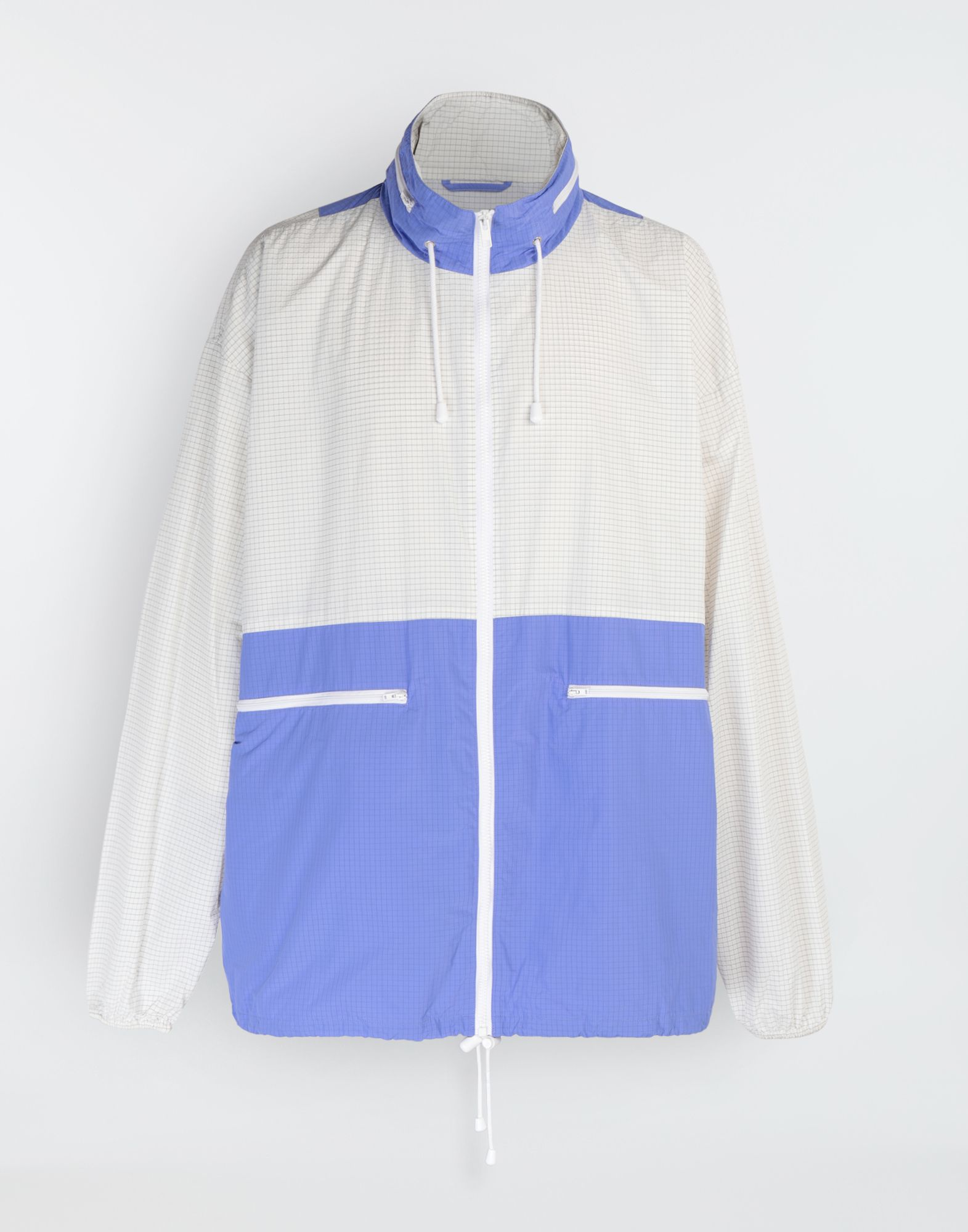 MAISON MARGIELA Nylon sports jacket Blazer Man f
