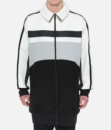 Y-3 Track top Uomo Y-3 OVERSIZED GRAPHIC TRACK TOP r