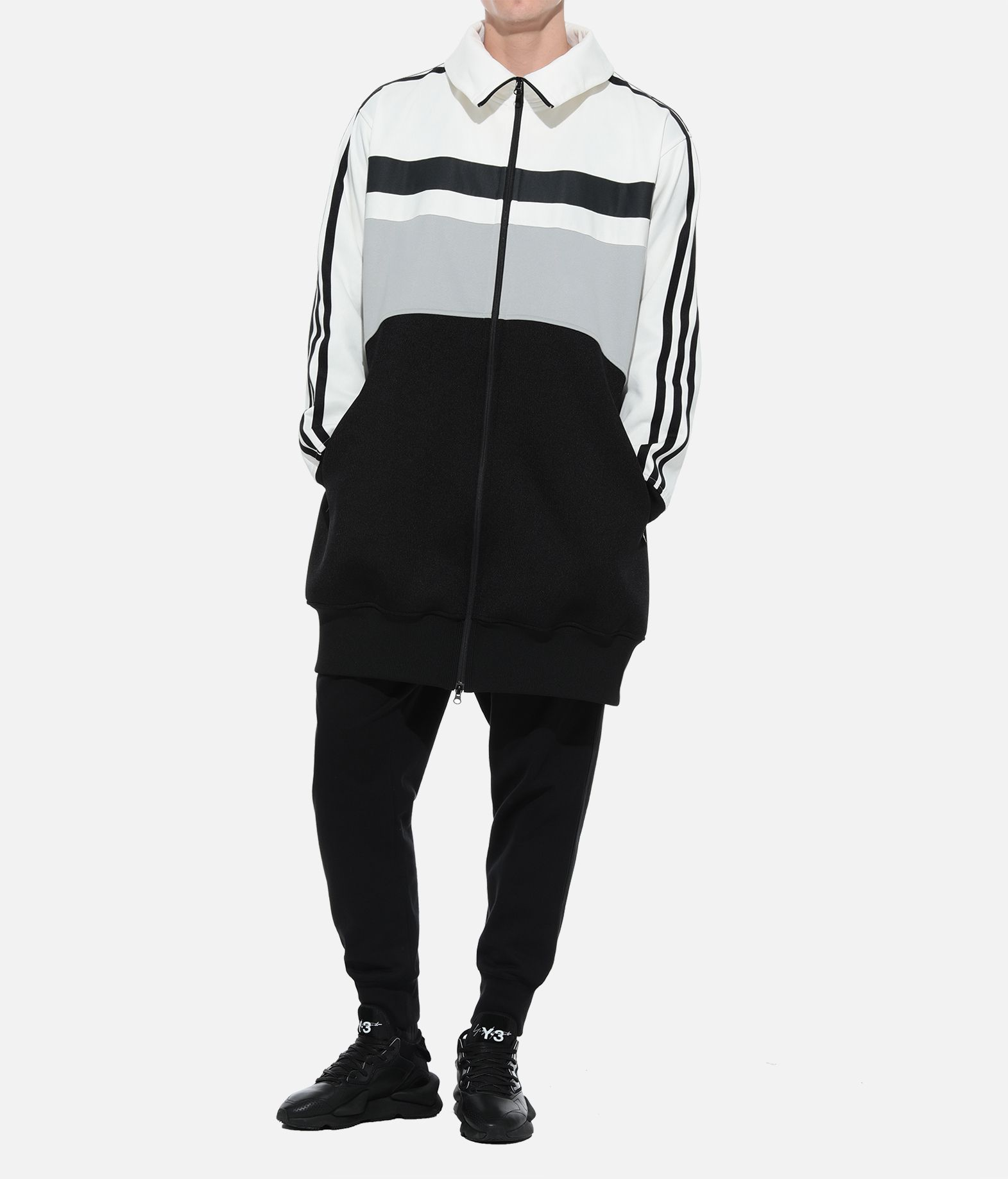 Y-3 Y-3 OVERSIZED GRAPHIC TRACK TOP Track top Man a