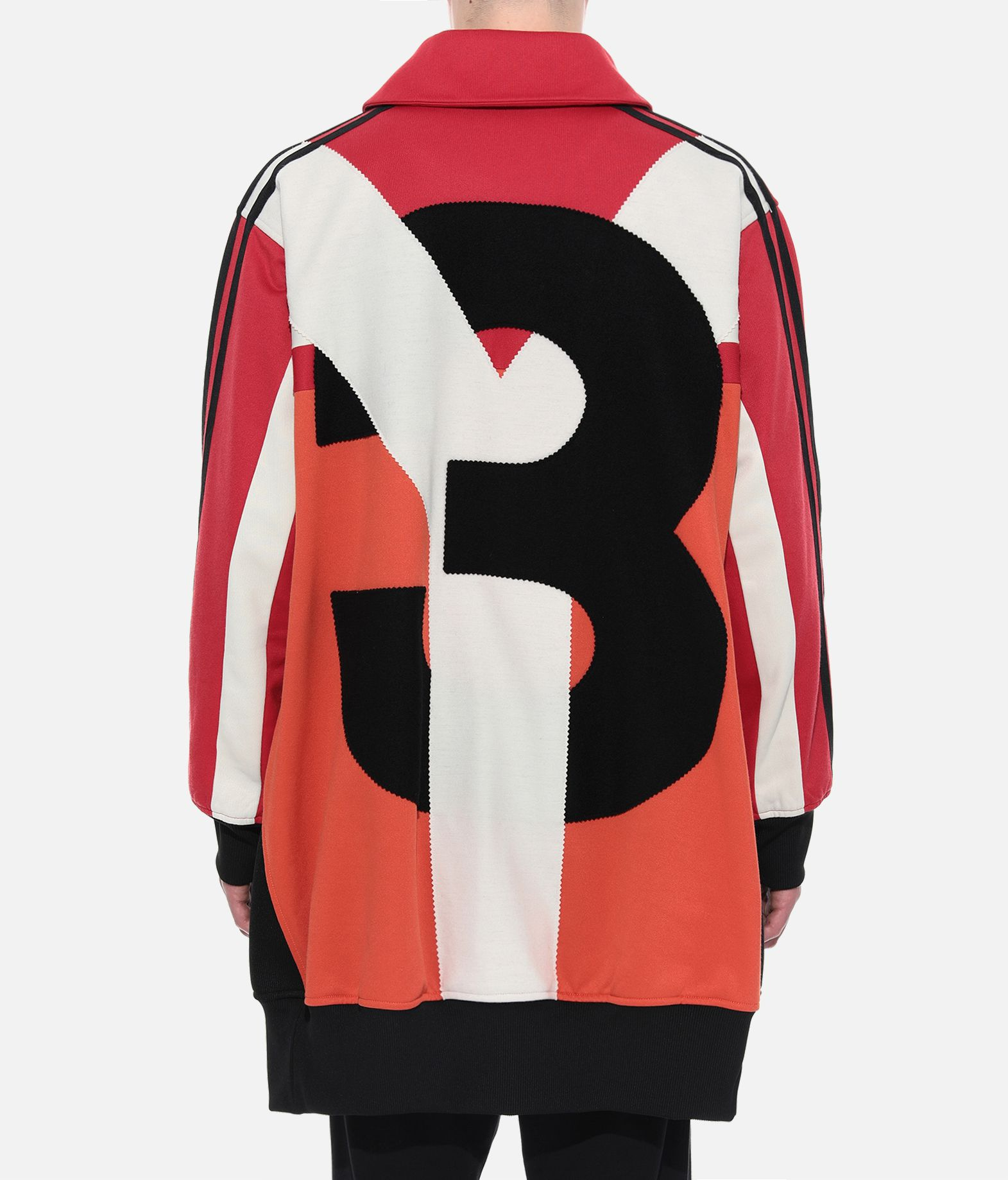 Y-3 Y-3 OVERSIZED GRAPHIC TRACK TOP Track top Man d
