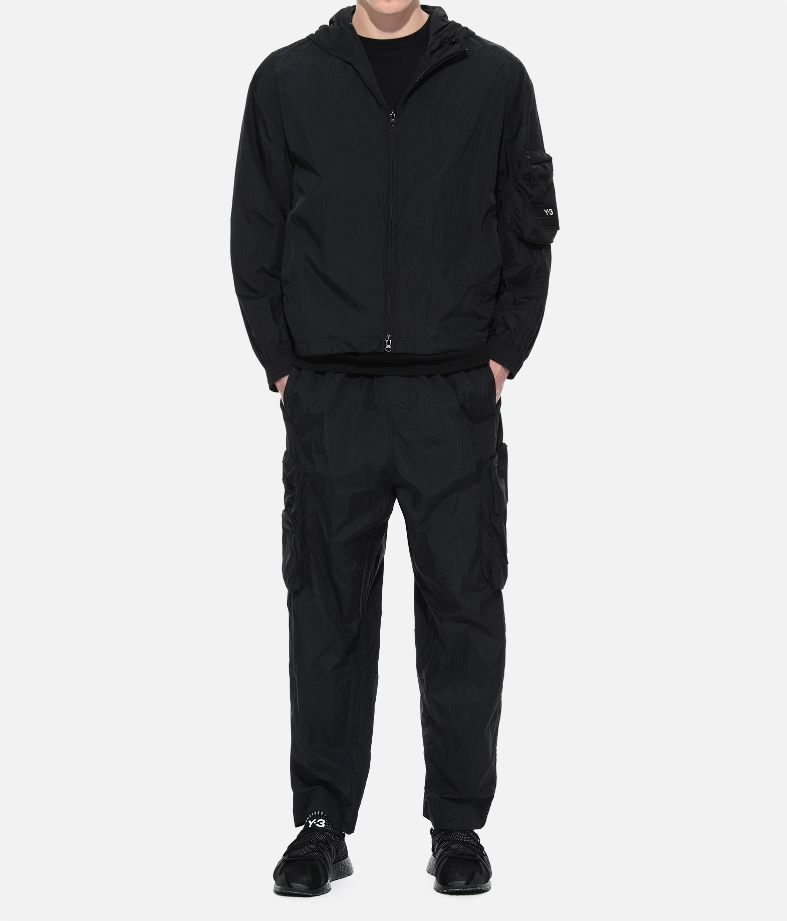 Y-3 Y-3 Shell Track Jacket Hooded Track Top Man a