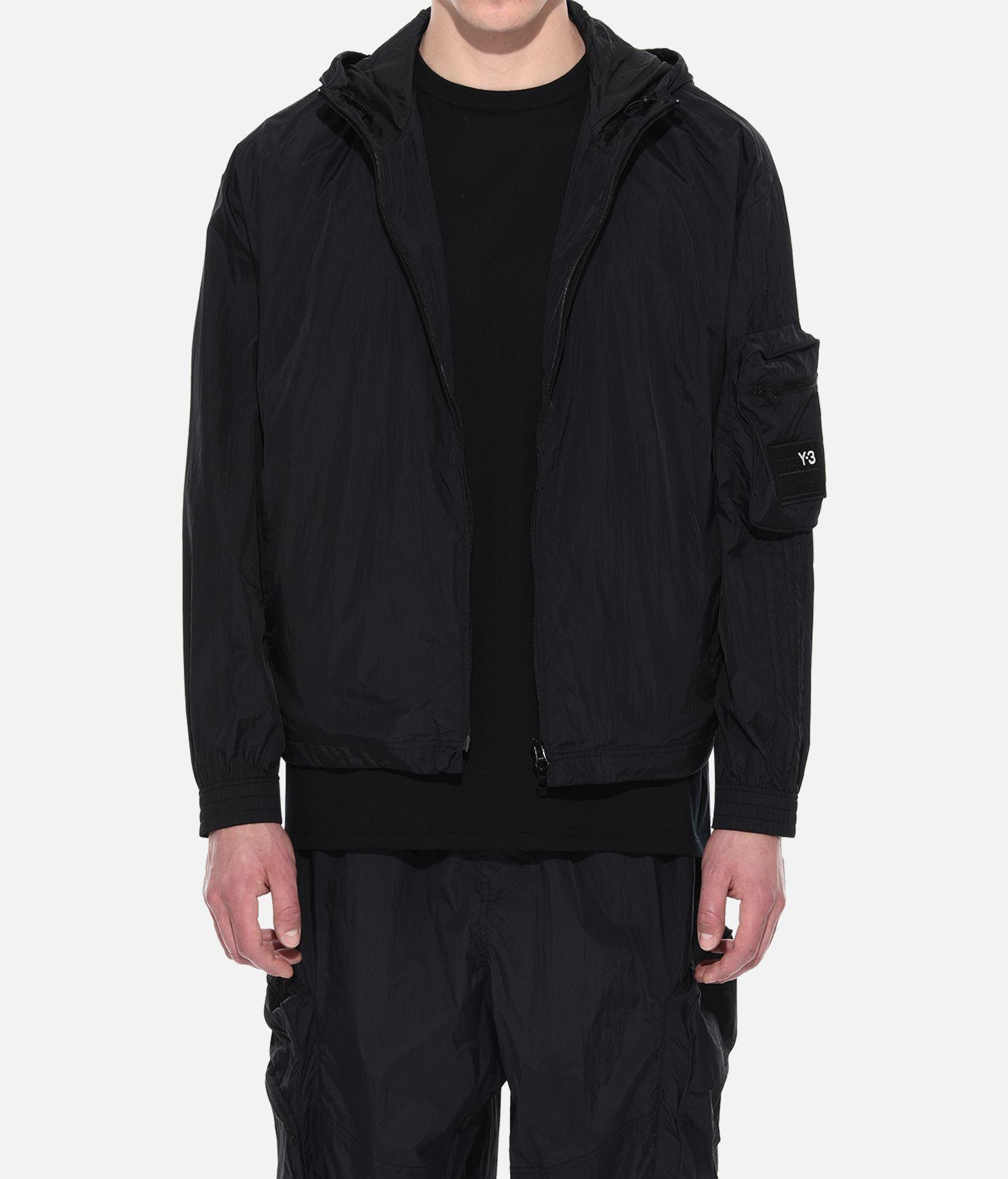 Y-3 Y-3 Shell Track Jacket Hooded Track Top Man r