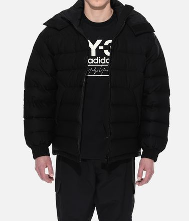 Y-3 Down jacket Man Y-3 Seamless Hooded Down Jacket r