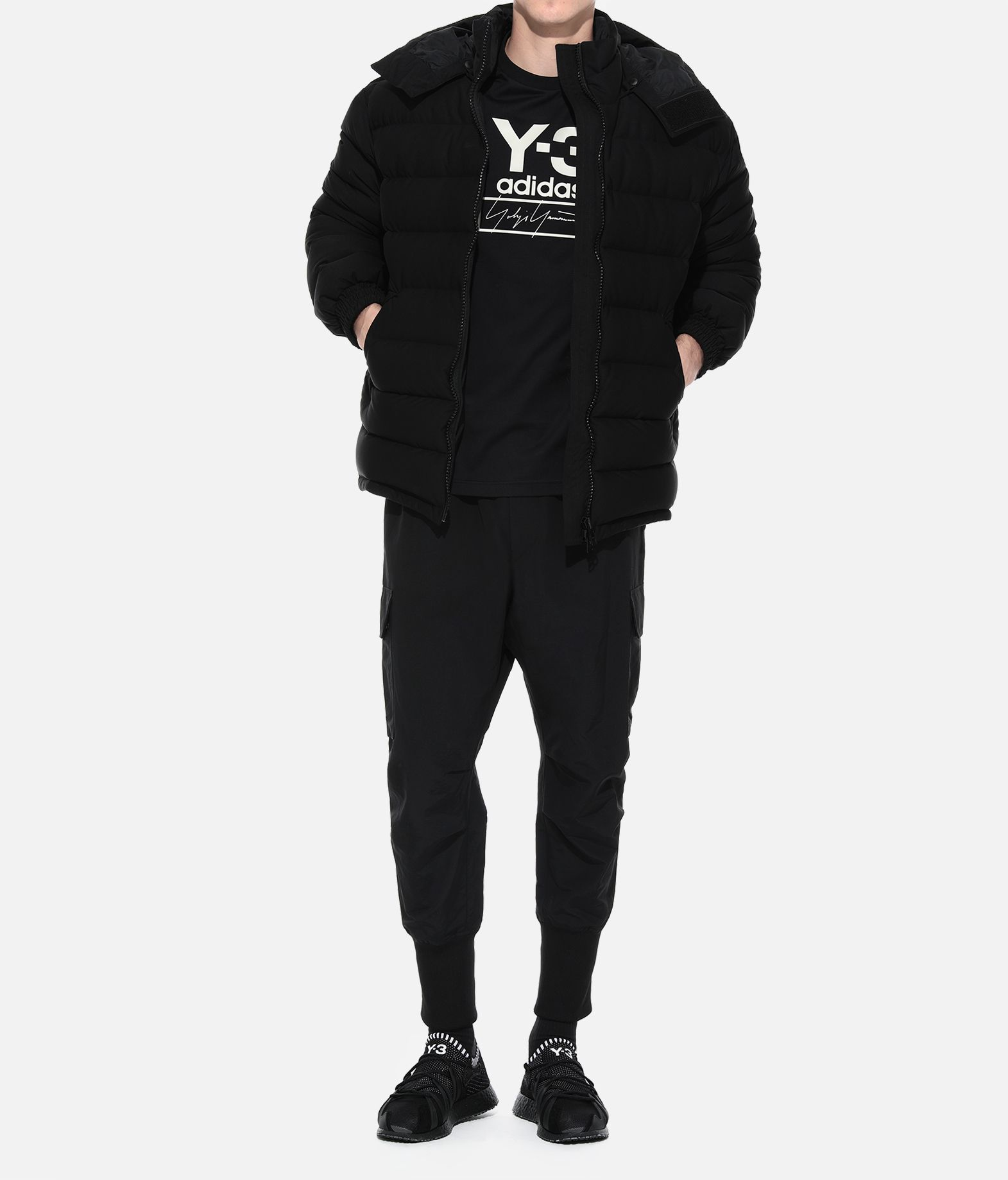 Y-3 Y-3 Seamless Hooded Down Jacket Down jacket Man a