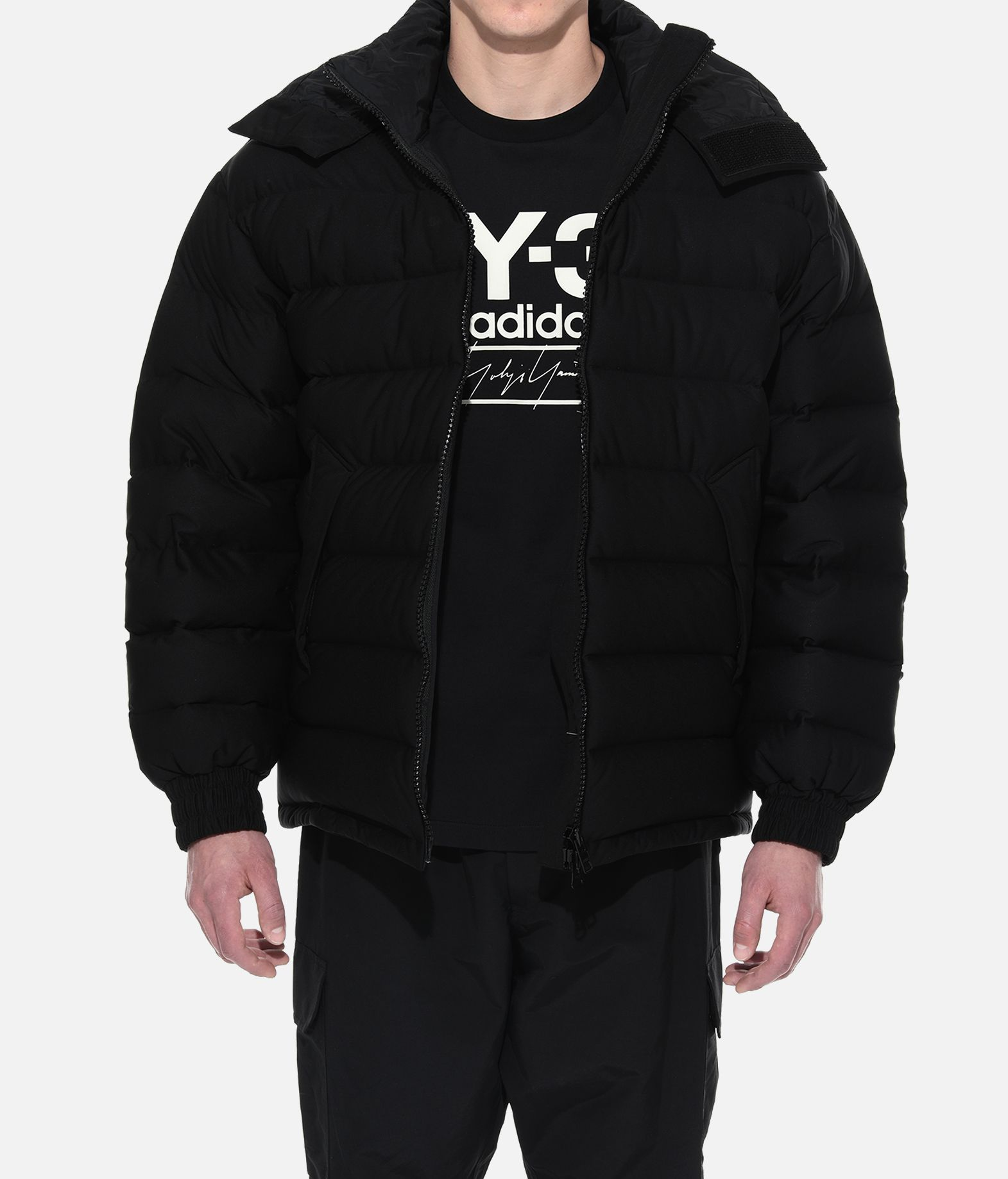 Y-3 Y-3 Seamless Hooded Down Jacket Down jacket Man r