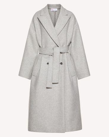 REDValentino SR0CAB004H5 DG8 Coat Woman a