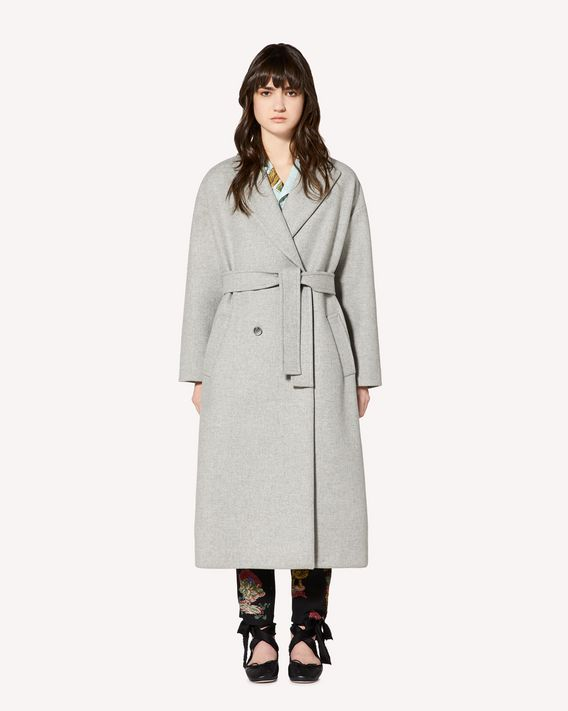REDValentino Wool Melange oversize coat