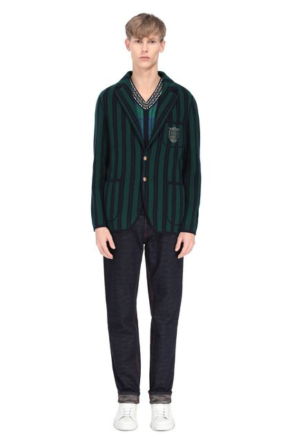 MISSONI Jacket Dark green Man - Front