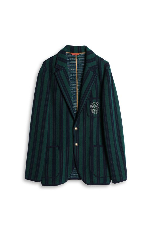 MISSONI Jacket Dark green Man