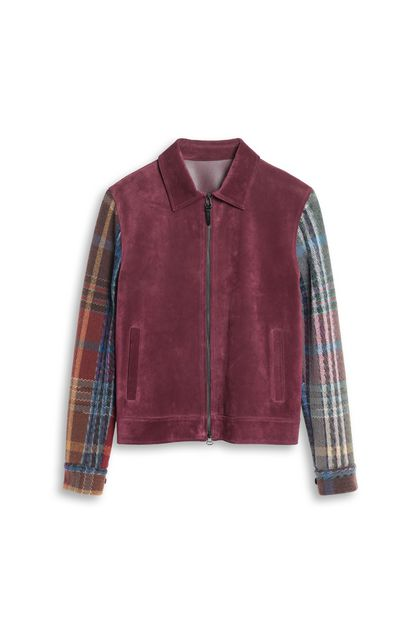MISSONI Lightweight Jacket Maroon Man - Back