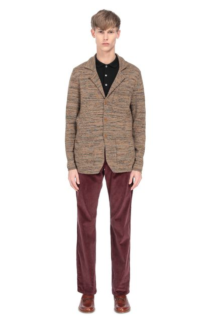 MISSONI Jacket Brown Man - Front