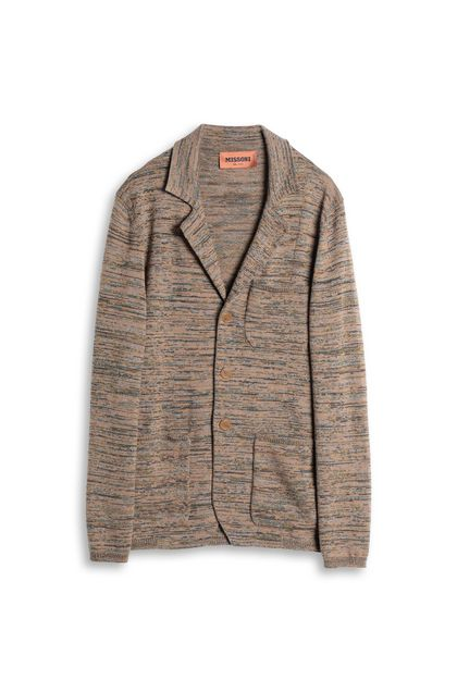 MISSONI Jacket Brown Man - Back