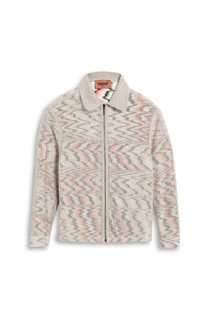 MISSONI Coat Beige Man - Back