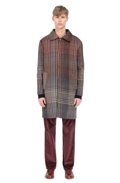 MISSONI Coat Red Man - Front