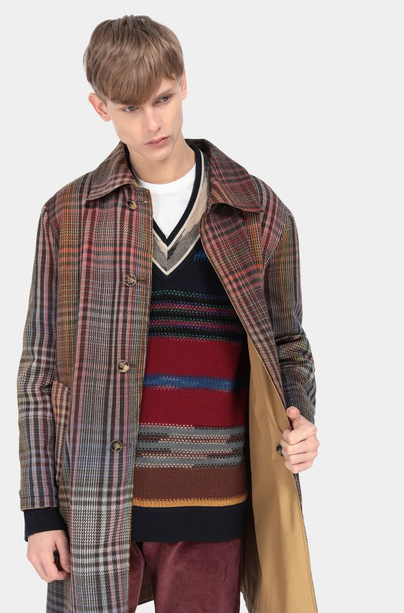 MISSONI Coat Red Man