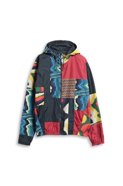 MISSONI Windbreaker Blue Man - Back