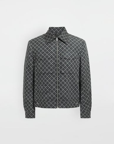 MAISON MARGIELA Checked sportsjacket Coat Man f