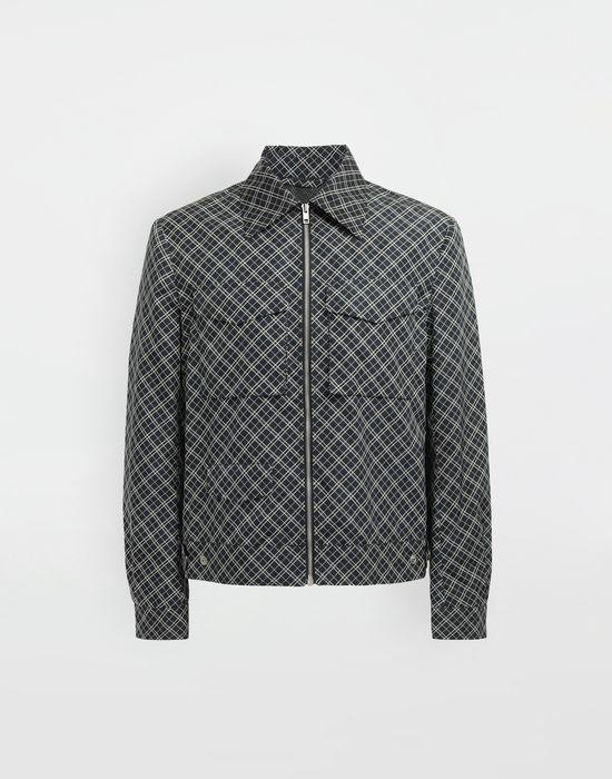 MAISON MARGIELA Checked sportsjacket Coat [*** pickupInStoreShippingNotGuaranteed_info ***] f