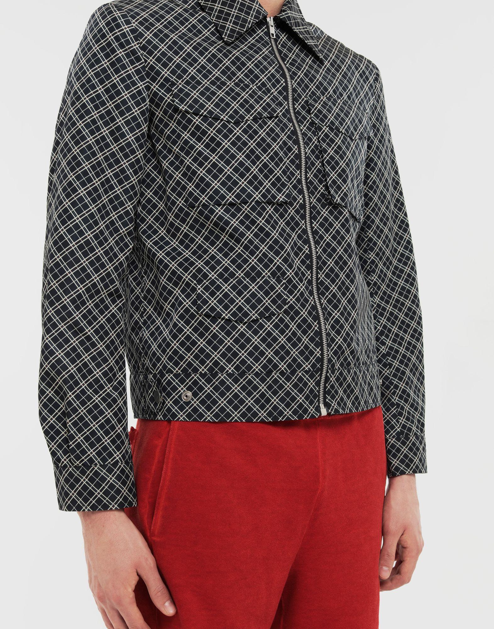 MAISON MARGIELA Checked sports jacket Coats and Trenches Man a