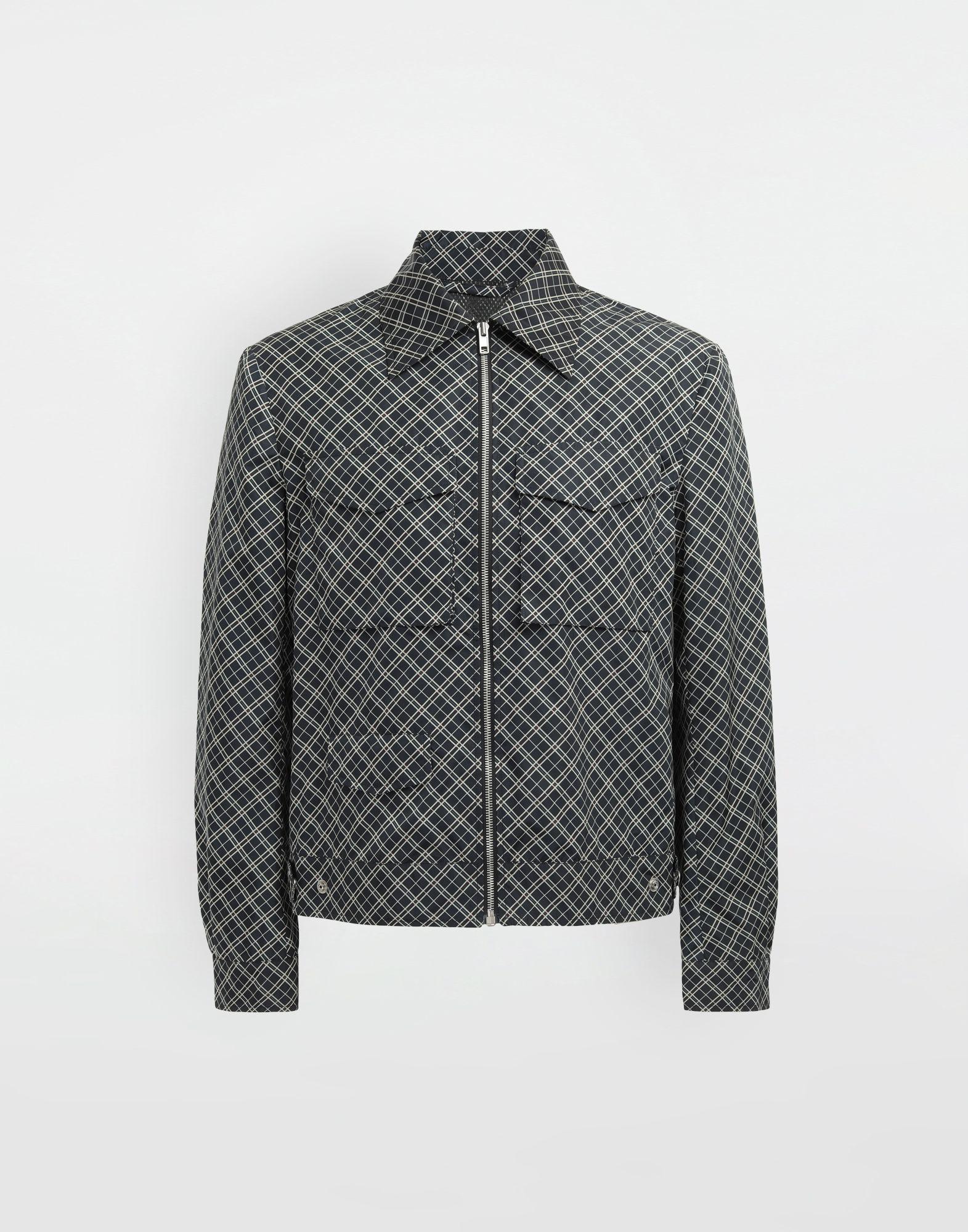 MAISON MARGIELA Checked sports jacket Coats and Trenches Man f