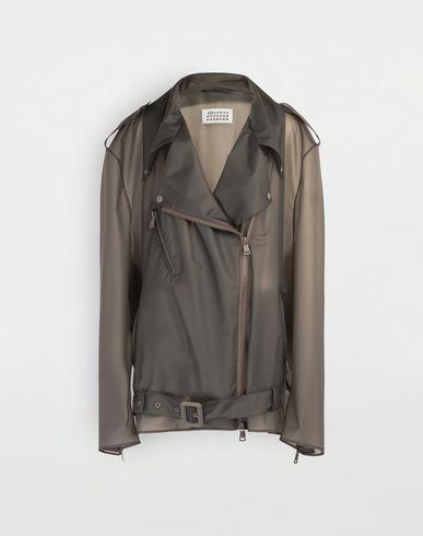 MAISON MARGIELA Blazer [*** pickupInStoreShipping_info ***] Smoked Plastic oversized sportsjacket f