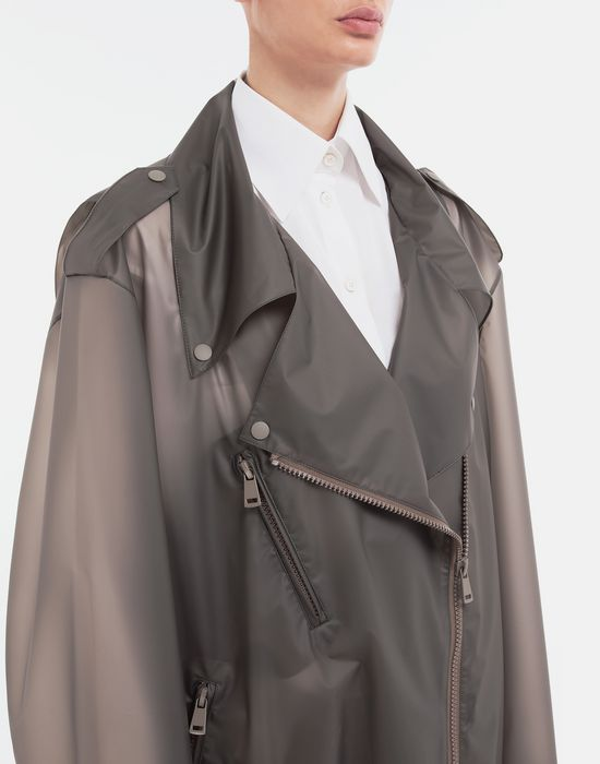 MAISON MARGIELA Smoked Plastic oversized sportsjacket Blazer [*** pickupInStoreShipping_info ***] a