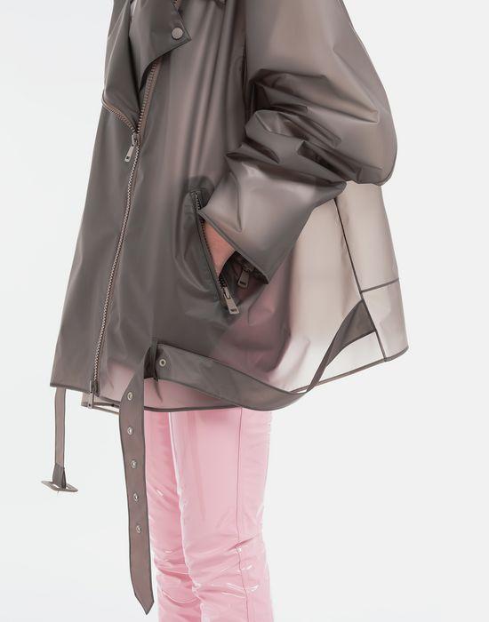 MAISON MARGIELA Smoked Plastic oversized sportsjacket Blazer [*** pickupInStoreShipping_info ***] b