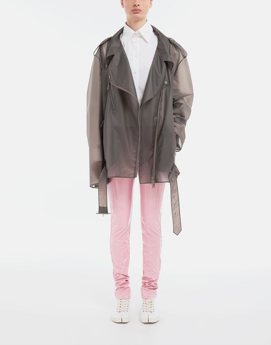 MAISON MARGIELA Smoked Plastic oversized sportsjacket Blazer [*** pickupInStoreShipping_info ***] d
