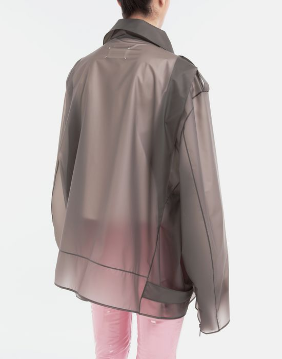 MAISON MARGIELA Smoked Plastic oversized sportsjacket Blazer [*** pickupInStoreShipping_info ***] e