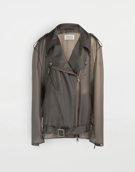 MAISON MARGIELA Smoked Plastic oversized sportsjacket Blazer [*** pickupInStoreShipping_info ***] f