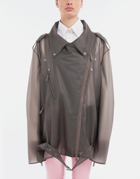 MAISON MARGIELA Smoked Plastic oversized sportsjacket Blazer [*** pickupInStoreShipping_info ***] r