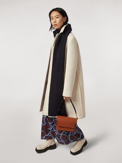 Marni Felted wool twill coat Woman
