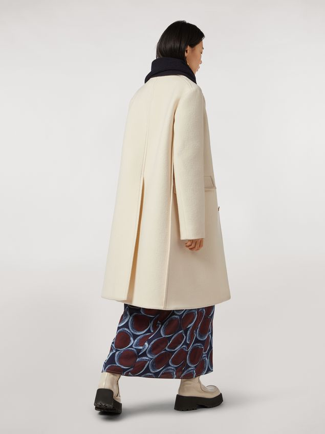 Marni Felted wool twill coat Woman
