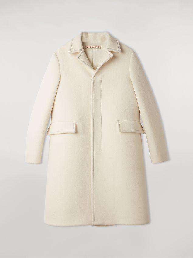 Marni Felted wool twill coat Woman - 2
