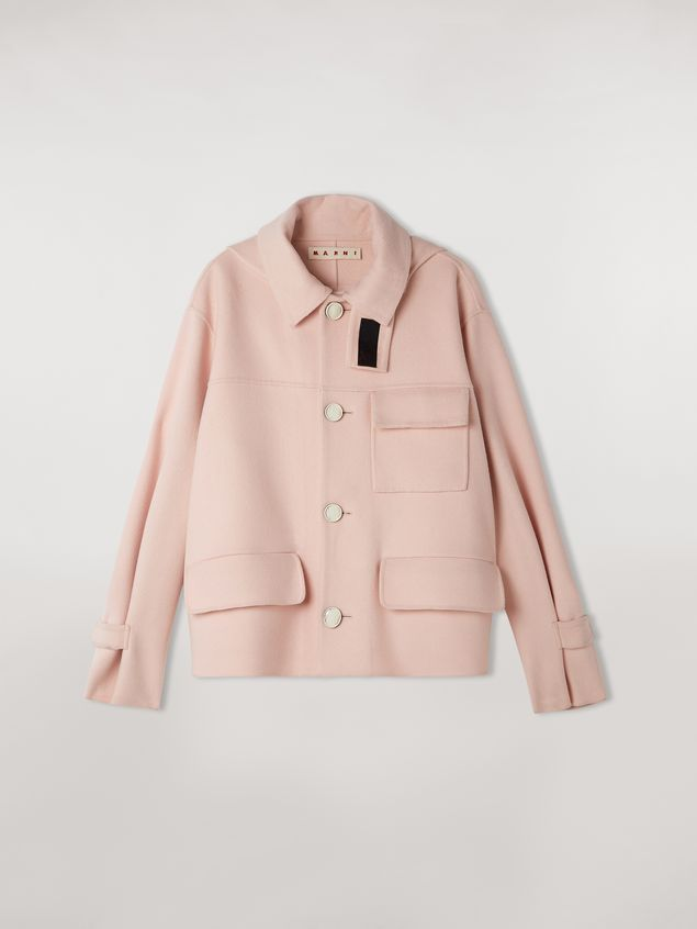 Marni Double-face cashwool jacket Woman - 2