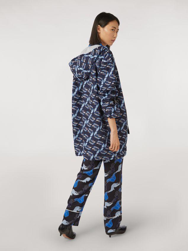 Marni Jacket in faille Firebird print by Bruno Bozzetto Woman