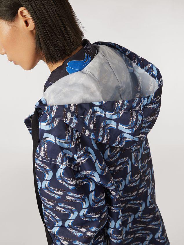 Marni Jacket in faille Firebird print by Bruno Bozzetto Woman - 4