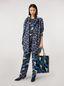 Marni Jacket in faille Firebird print by Bruno Bozzetto Woman - 1