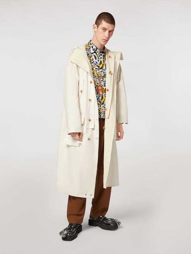 Marni Compact cotton canvas reversible coat Man - 5