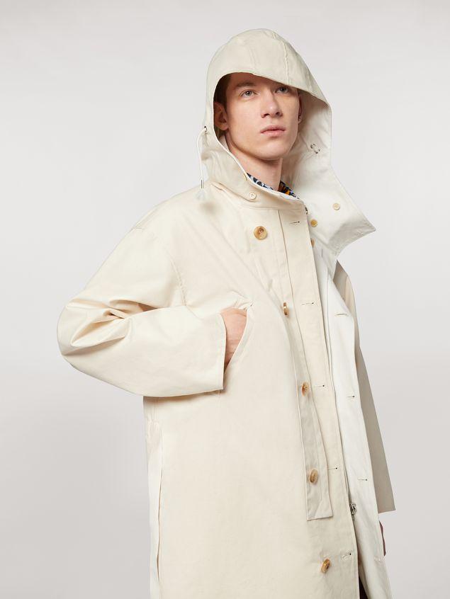 Marni Compact cotton canvas reversible coat Man - 4