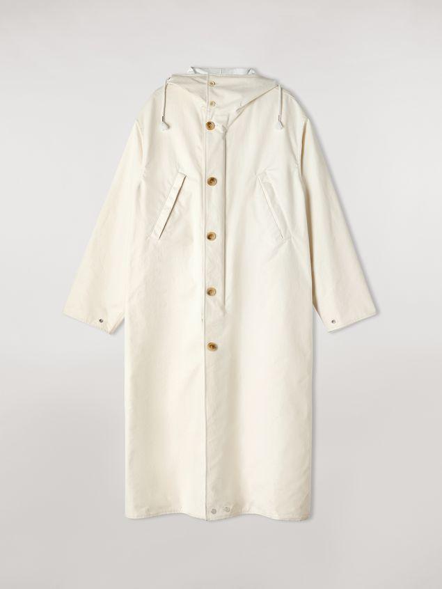 Marni Compact cotton canvas reversible coat Man - 2
