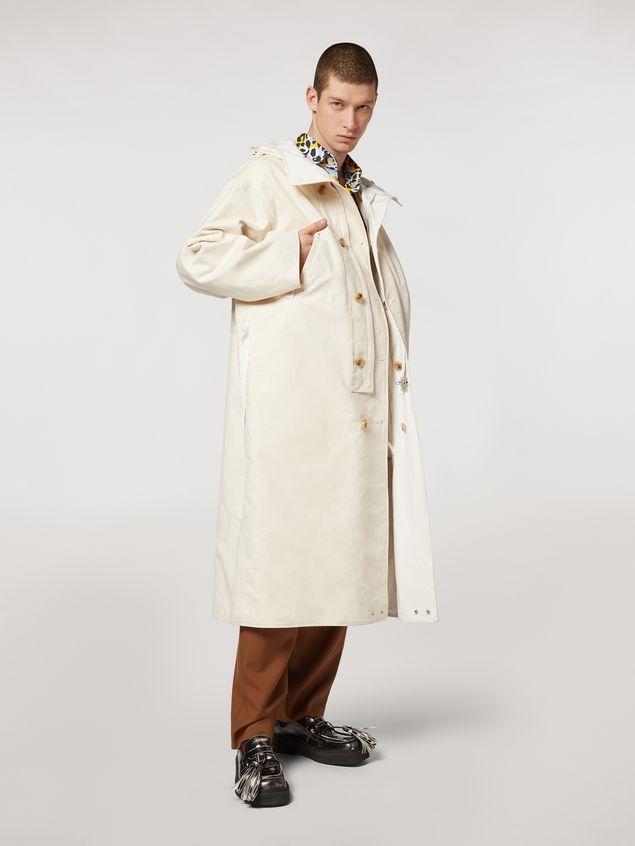 Marni Compact cotton canvas reversible coat Man - 1
