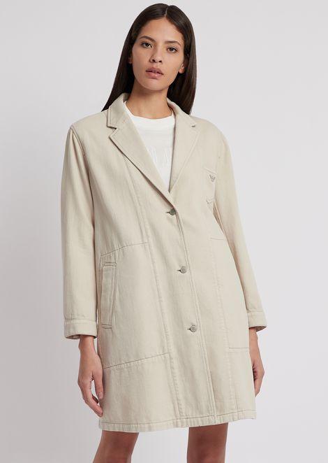 EMPORIO ARMANI Coat Woman f