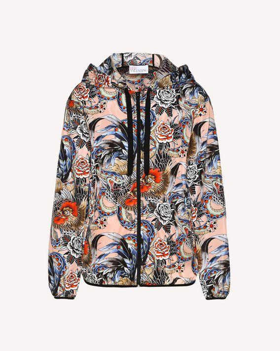 REDValentino Wild Pride printed nylon shell jacket