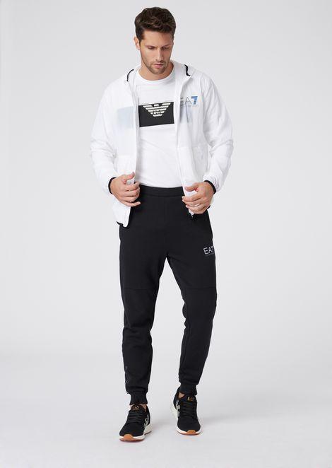 Train Evo Mono packable windbreaker jacket in tech fabric