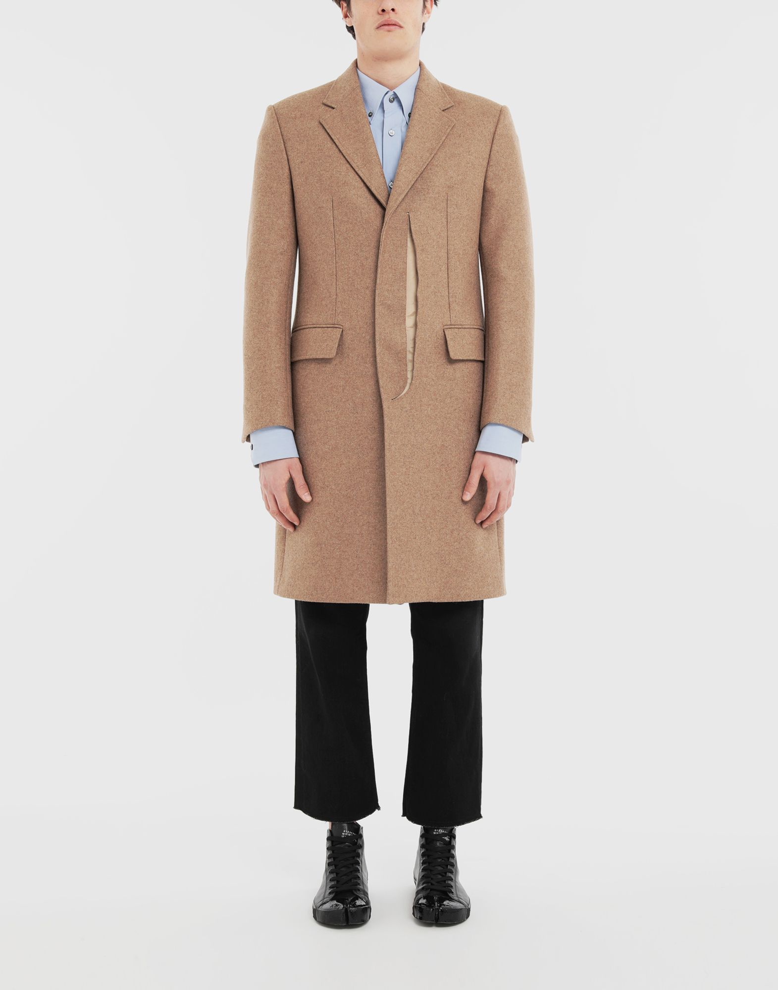MAISON MARGIELA Décortiqué coat Coats and Trenches Man r