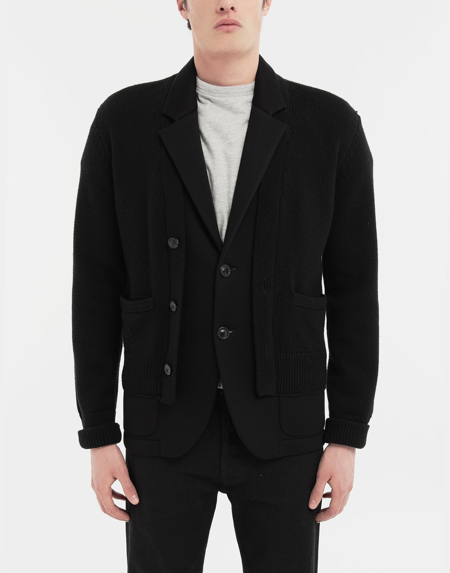 MAISON MARGIELA Double layer jacket Jacket Man r
