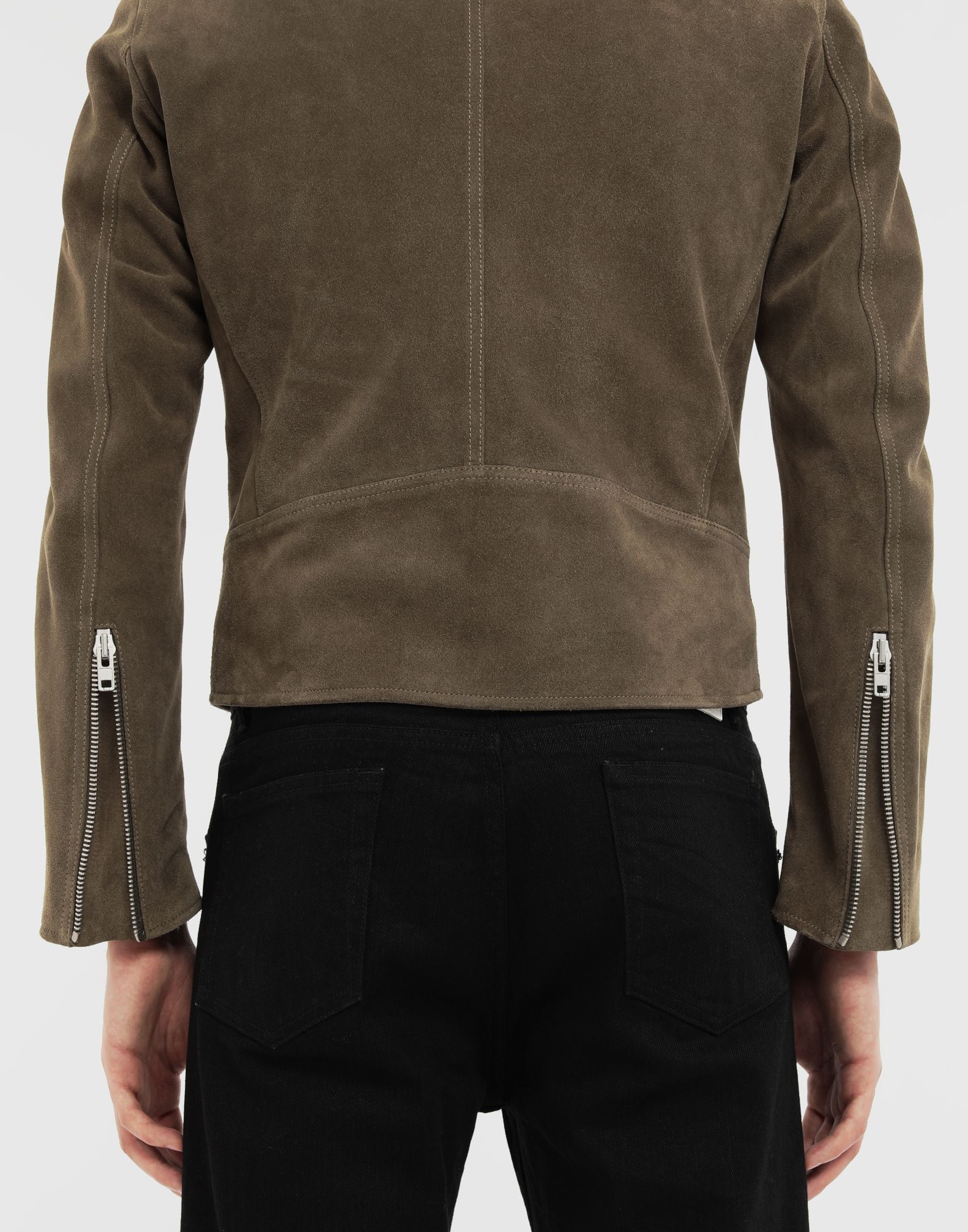 MAISON MARGIELA Leather jacket Leather Jacket Man a