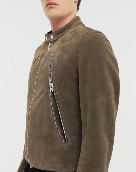 MAISON MARGIELA Leather jacket Leather Jacket Man b