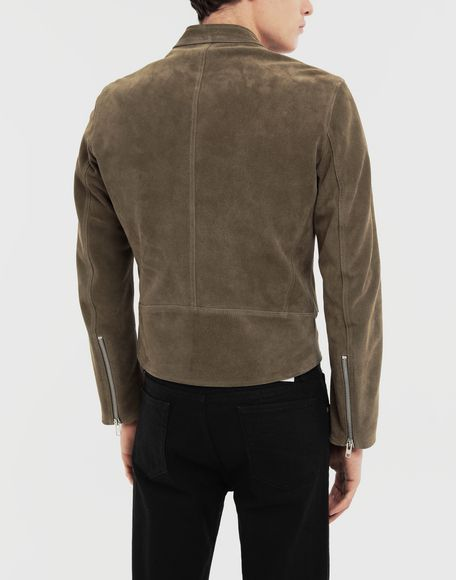MAISON MARGIELA Leather jacket Leather Jacket Man e